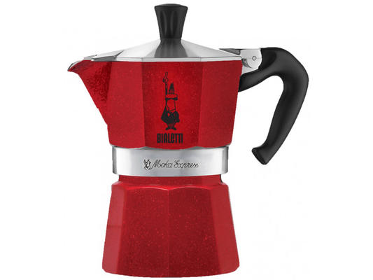 Bialetti kawiarka Red Emotion - 6 filiżanki